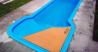 piscina de fibra passione deck exclusive
